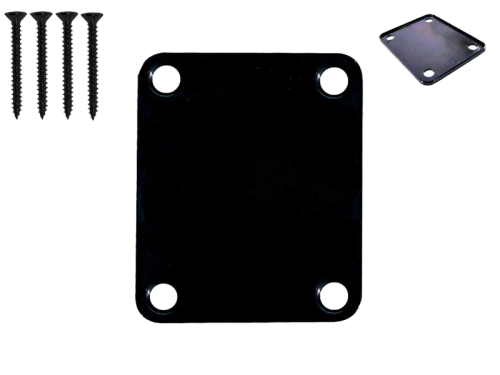 VPARTS NP-01S neck plate with screws (BK)