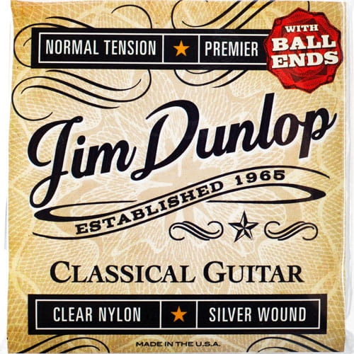 DUNLOP Classical Premiere Normal Ball-End strings