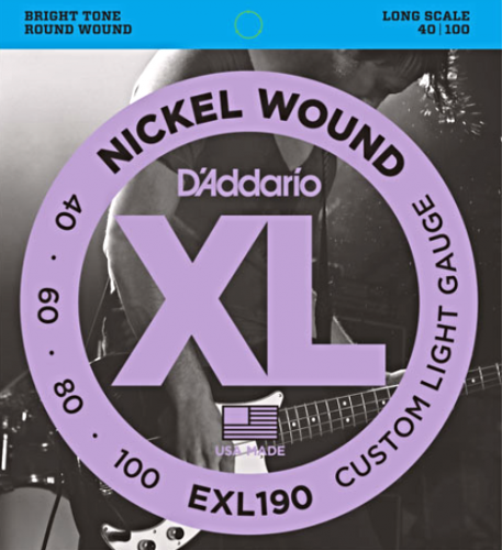 D'ADDARIO XL Nickel Wound EXL190 (40-100)